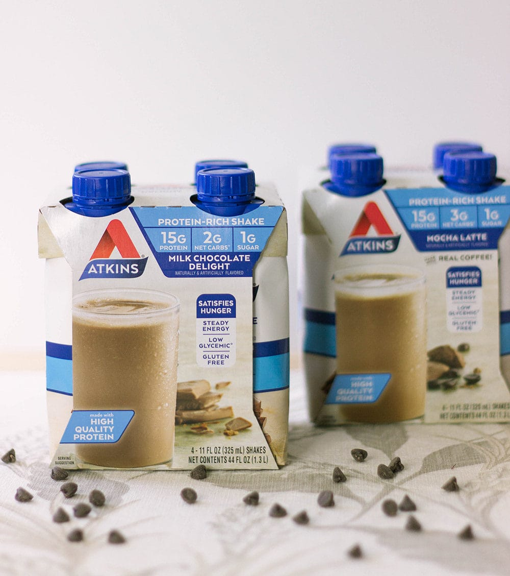 Atkins Shakes - chocolate and mocha