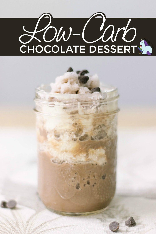 Keto-friendly chocolate dessert