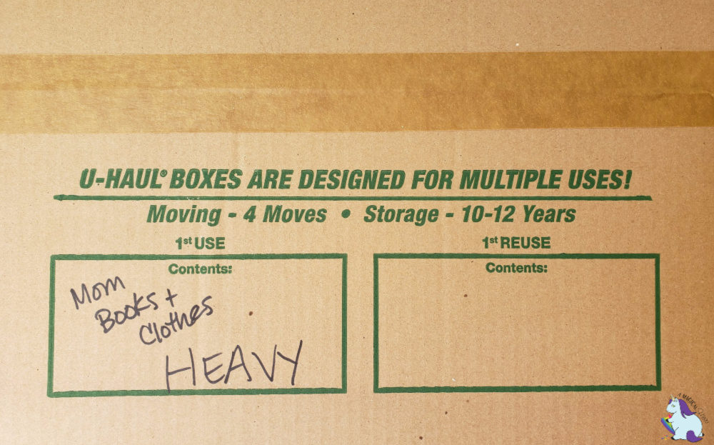 Tips for packing boxes
