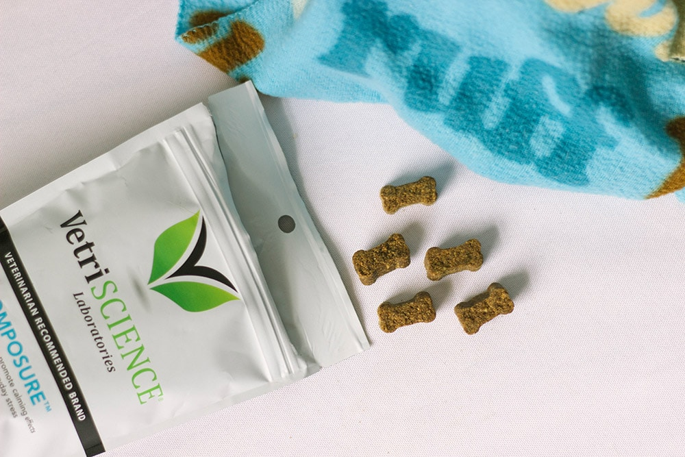 VetriScience chews to help calm pets