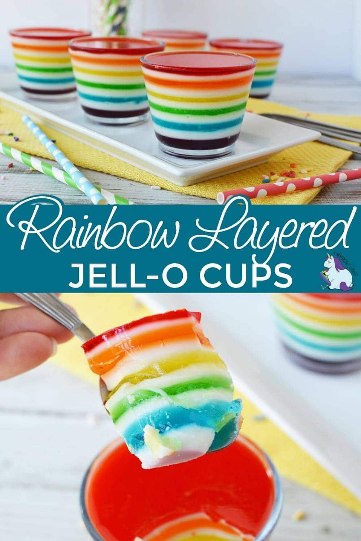 Jell-o layered dessert cups