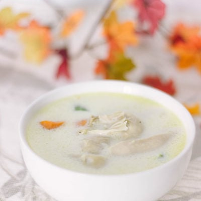Low-Carb Cream of Chicken Soup