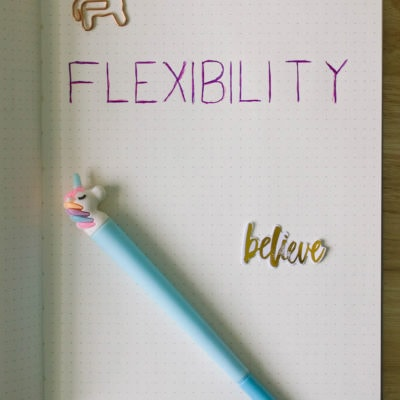 Adding Flexibility to New Year's Resolutions