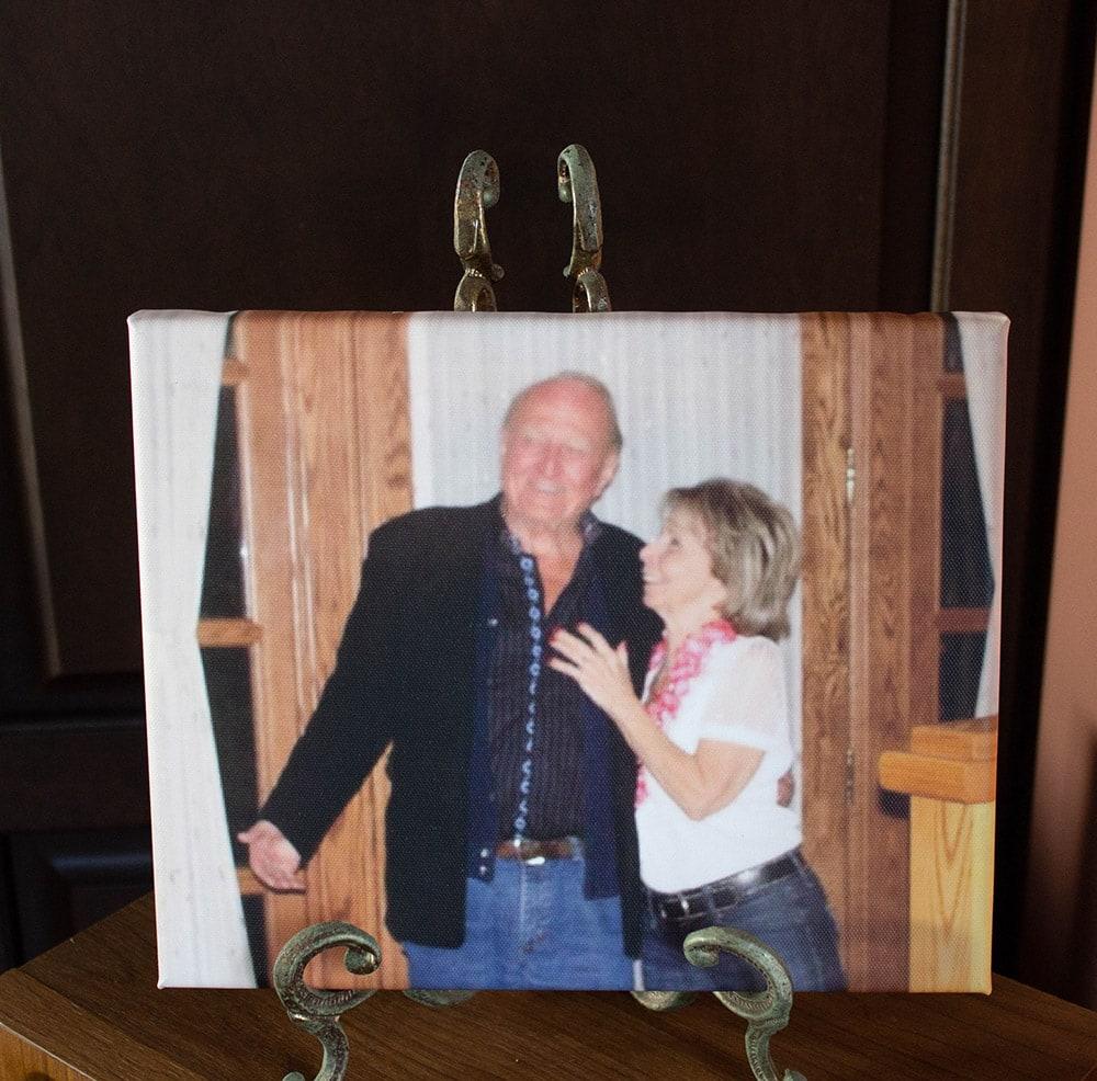 Gram and Papa at a Hawaiian party