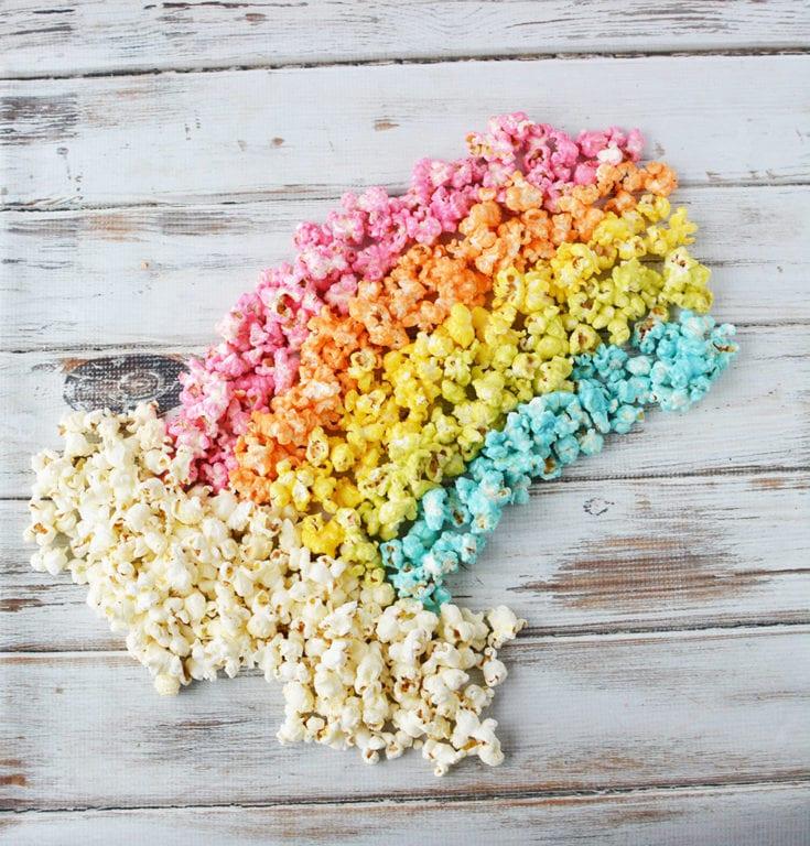 Rainbow Unicorn Popcorn