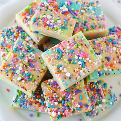 Rainbow Unicorn Fudge Recipe