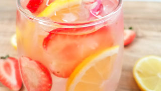 Pink Lemonade Moscato Cocktail