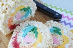 pinwheel rice krispies treats
