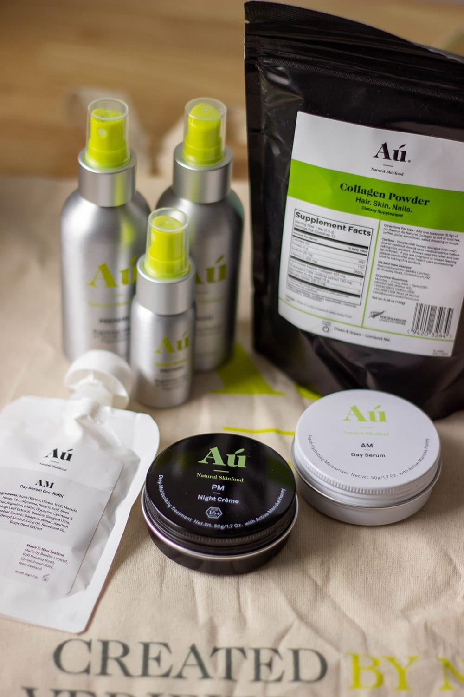 Au skin food products