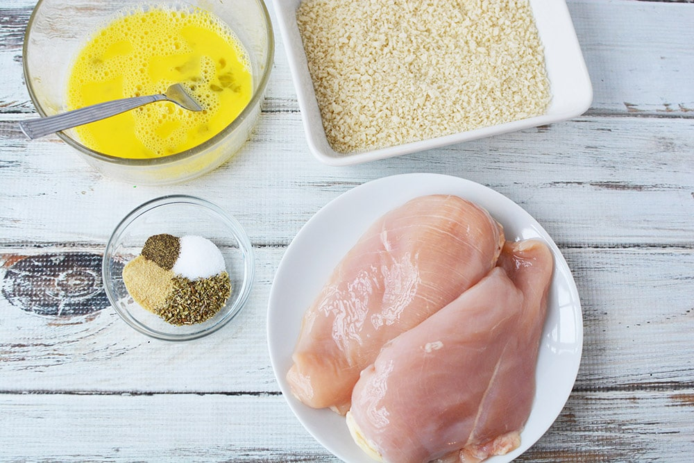 herb crusted chicken ingredients