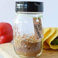 jar of taco seasoning mix