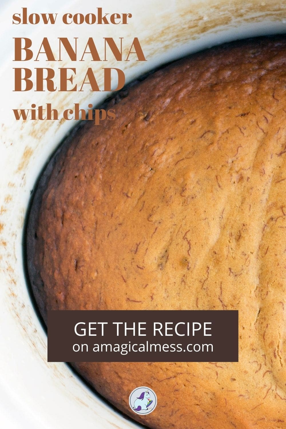 banana bread in a slow cooker