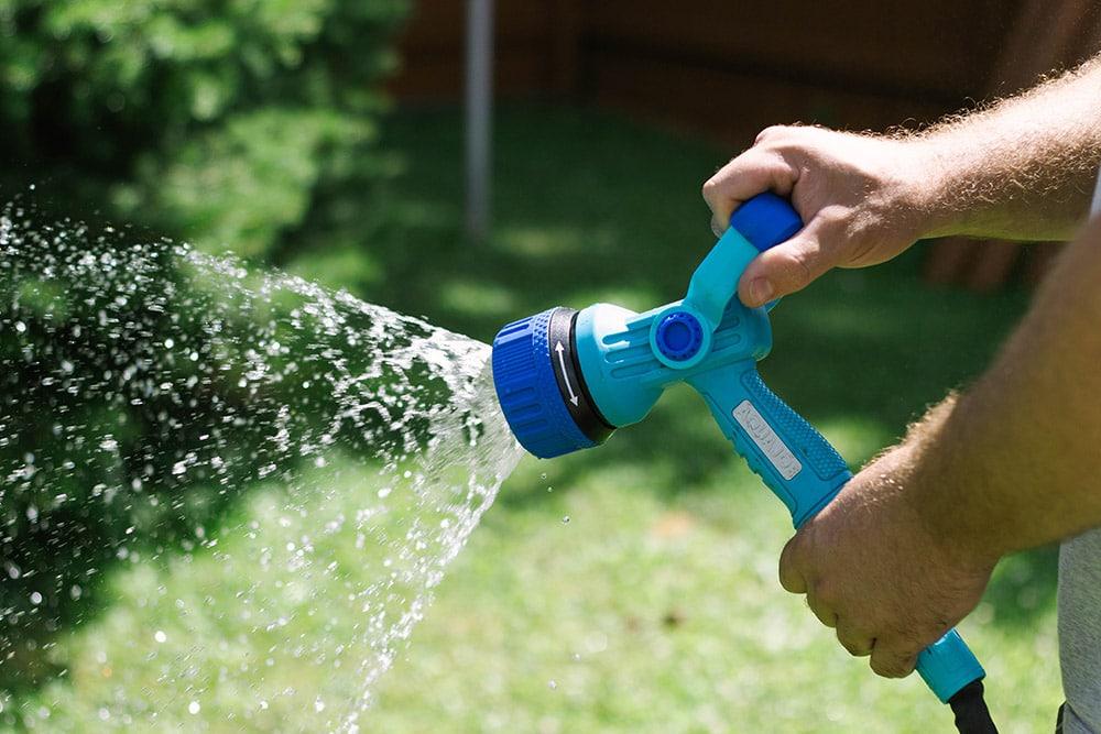 Firemans hose nozzle