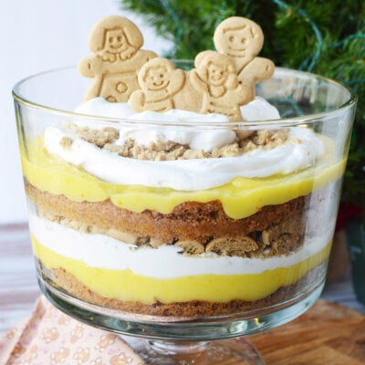 Gingerbread Trifle Recipe