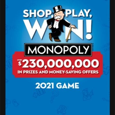 Monopoly Game is Back at Albertsons!