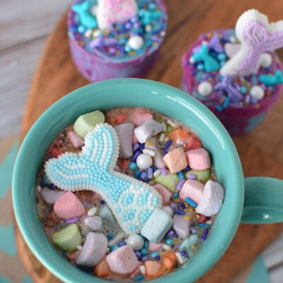 Mermaid Hot Chocolate Bombs