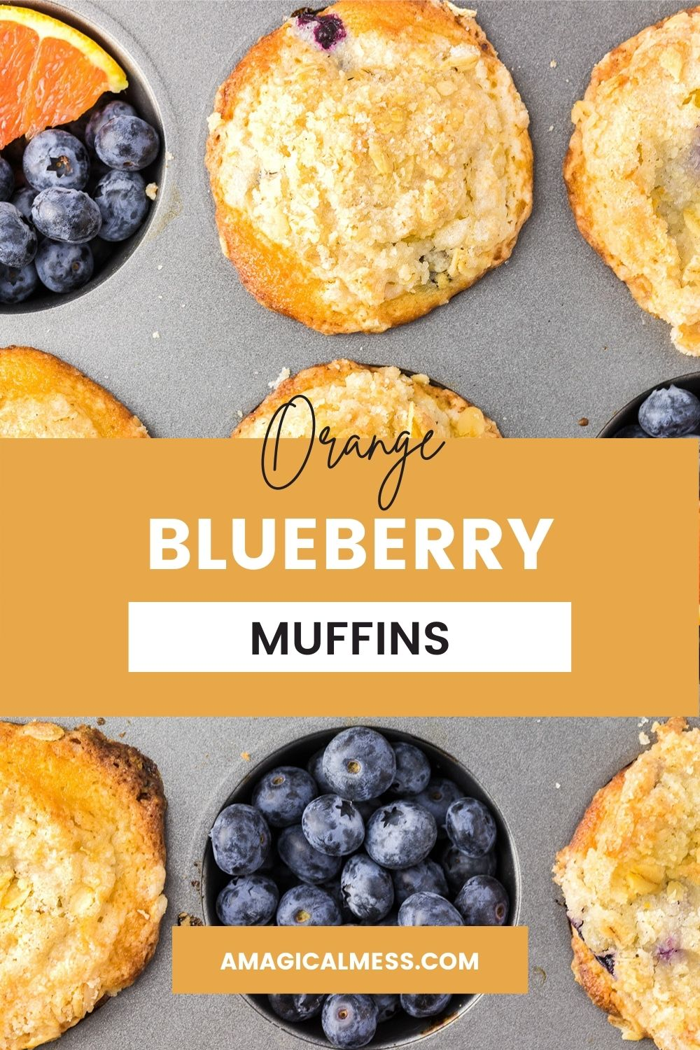 Muffins in a pan.