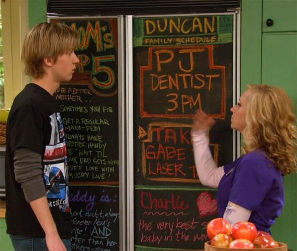 good luck charlie chalkboard