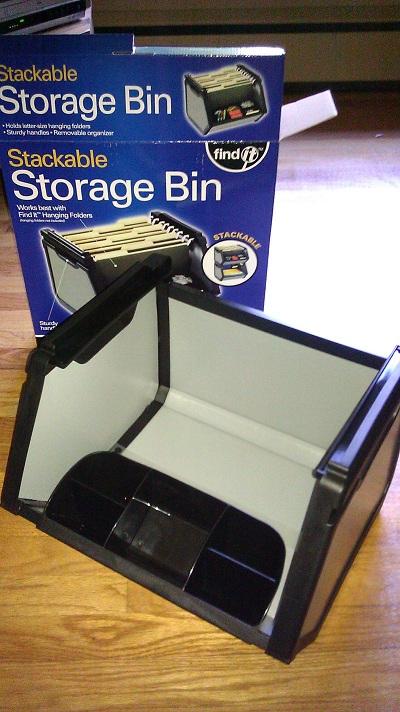 stoarage bin